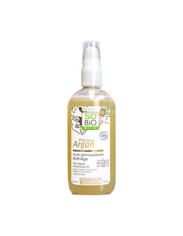 Olio struccante antiage